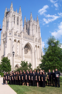 A picture of the Augusta Youth Chorale group